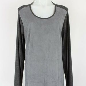 Vince Camuto Grey Long Sleeve Dress Size XL